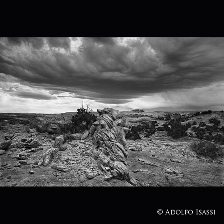 Storms Of The American Southwest No 77 B&W